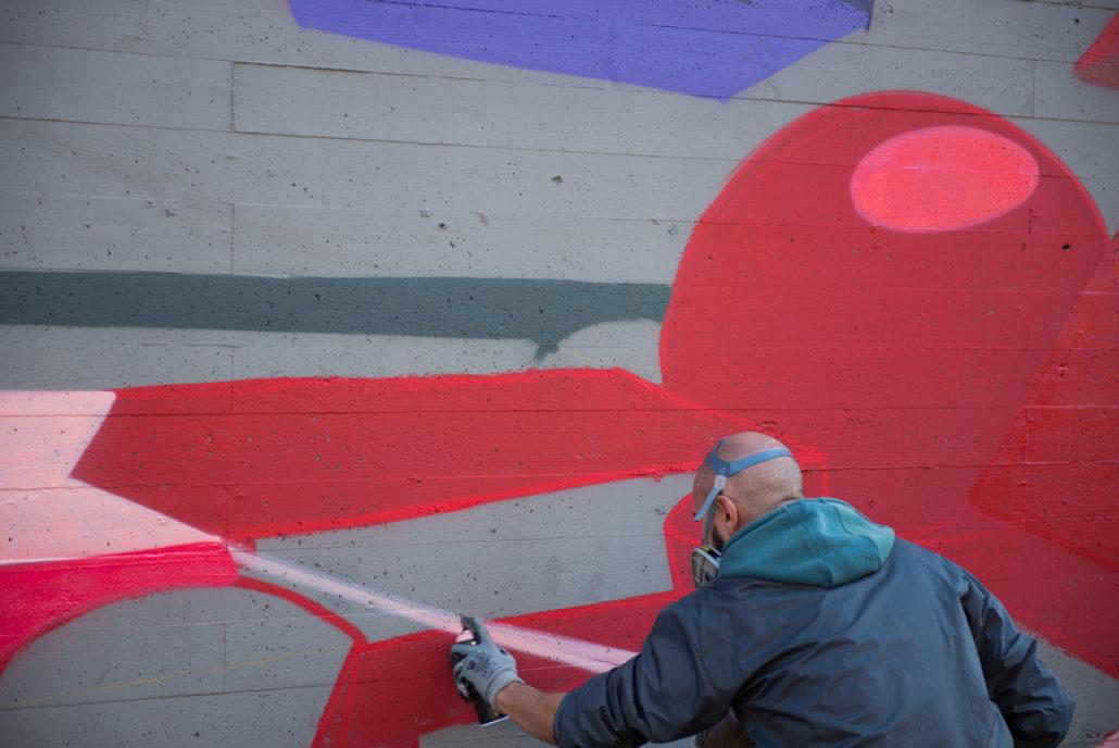 Graffiti wat murarte quercetti